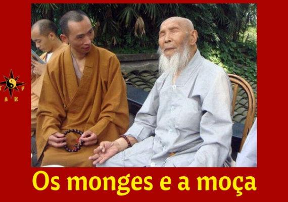 Os monges e a moça