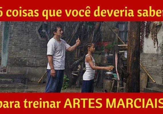5 COISAS QUE VOCÊ DEVERIA SABER PARA TREINAR ARTES MARCIAIS (QUALQUER UMA)